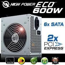 HIGH POWER 600W ECO 12CM FAN 20+4PIN
