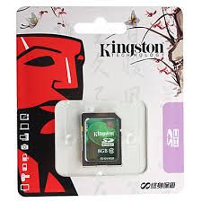 KINGSTON 8GB SD CLASS 10