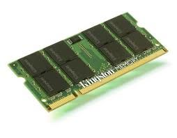 KINGSTON NOTEBOOK RAM 2 GB 1333 MHZ DDR3 CL9