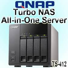 QNAP TS-412 ALL IN ONE TURBO NAS